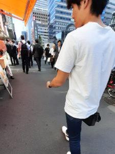 歩きながらマッチングアプリについてお話