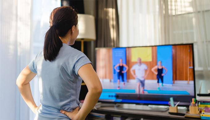 テレビ画面に映すことは可能?
